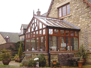 BESPOKE HARDWOOD REGENCY CONSERVATORY CONSTRUCTION AND REPAIR