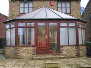 HARDWOOD VICTORIAN CONSERVATORY CONSTRUCTION AND REPAIR